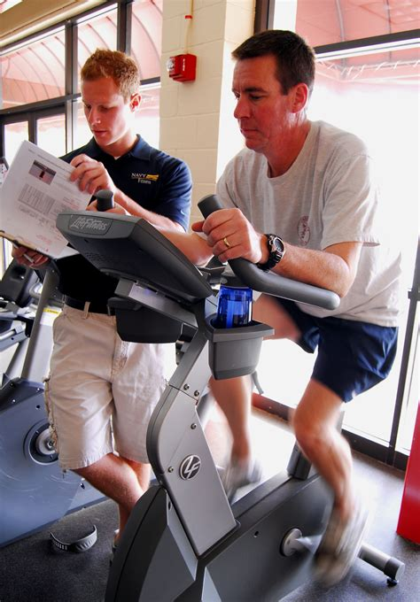 admiral prout field house file us navy 090205 n 2183k 027 cmdr robert chase performs a cardio vascular workout