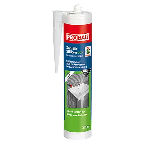 acryl silikon aussenbereich probau eco sanit 228 r silikon wei 223 310 ml bauhaus