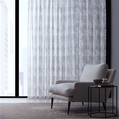 Sheer Fabric For Curtains Designs Provence Sheer Drapery Fabric By Charles Parsons Interiors Ideas For The House