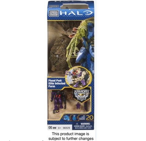 Mega Bloks Halo Flood Pod Elite Combat Form halo mega bloks set 96929 flood pod elite combat form