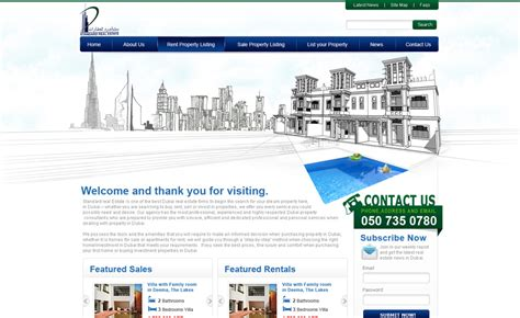 web layout design standards standard real estate vertilex web design