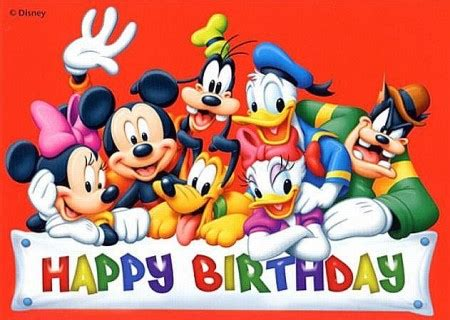 Mickey Mouse Wishing Happy Birthday Disney Happy Birthday Wish You A Very Happy Birthday Dev