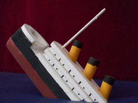 How To Make A Paper Titanic Model - titanic sinking model by sonickingscrewdriver on deviantart