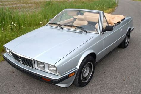 buy car manuals 1989 maserati spyder user handbook find used very rare maserati biturbo zagato spyder 2 5l manual ultra low mileage in cleveland