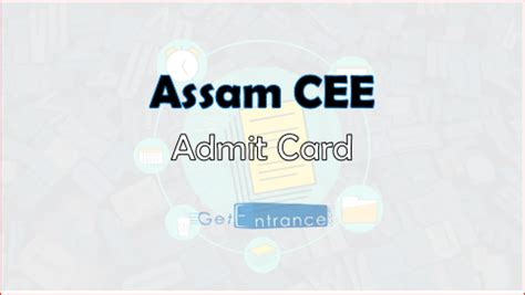 Assam Mba 2017 by Assam Cee 2018 Admit Card How To Ticket