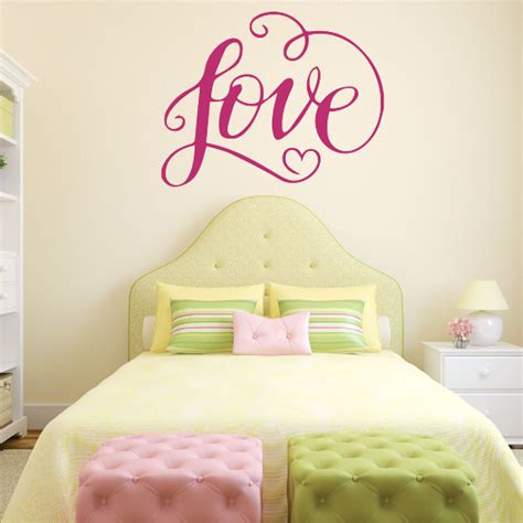 wall decals for girls bedroom love wall decals and decor for girls bedroom