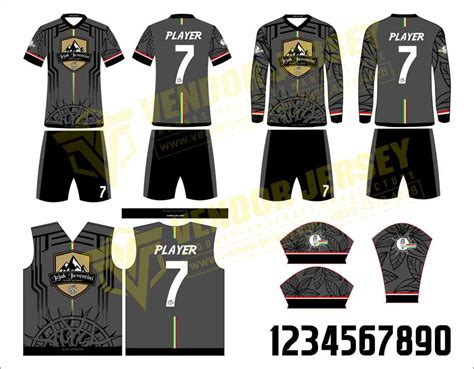 desain baju futsal paling keren seragam olahraga futsal vendor jersey