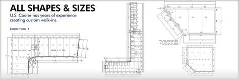 architectural information u s cooler walk ins