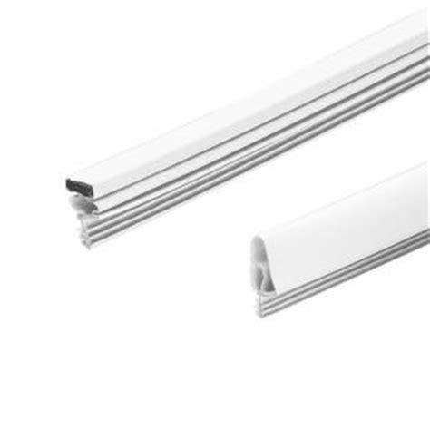 shower door weatherstripping king e o 17 ft magnetic door seal replacement kit