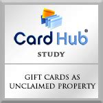 Unclaimed Gift Cards - study on gift cards as unclaimed property