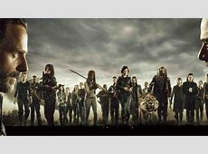 The Walking Dead Cast Poster, HD 4K Wallpaper Xperia Z3