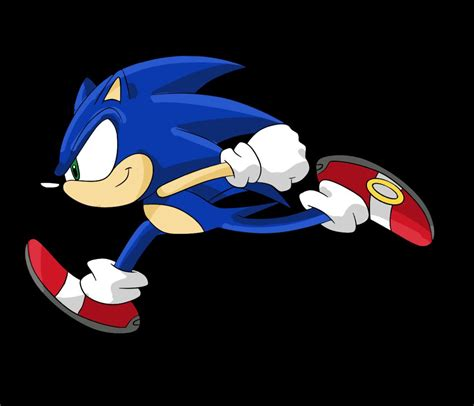 Kaos Anime Nike Run It Like A running sonic by arkyz on deviantart