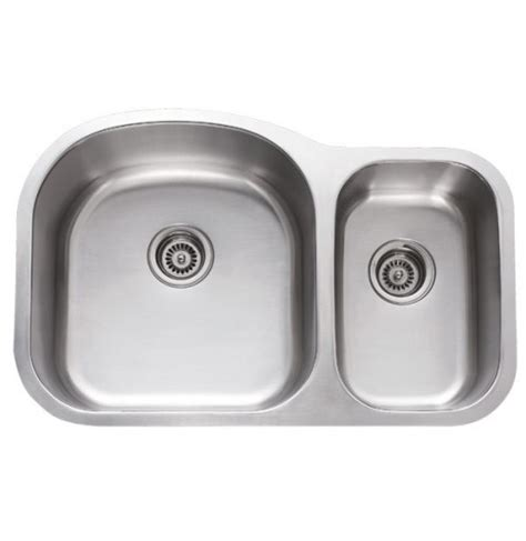 undermount double bowl kitchen sink for 30 inch cabinet 31 inch stainless steel undermount 70 30 double bowl