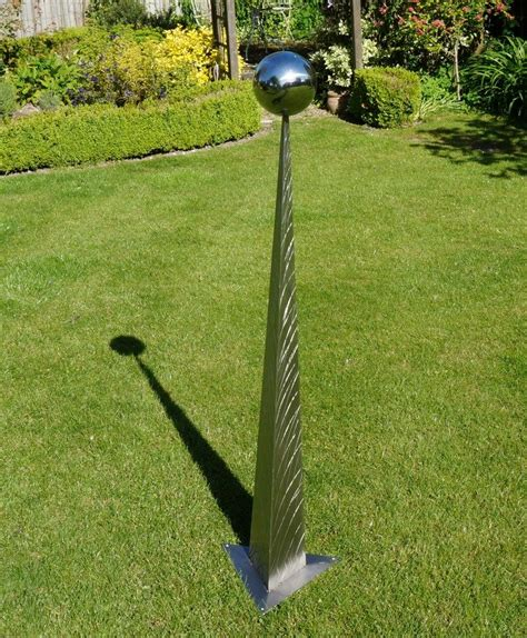 stainless steel garden sculpture for sale contemporary abstract original