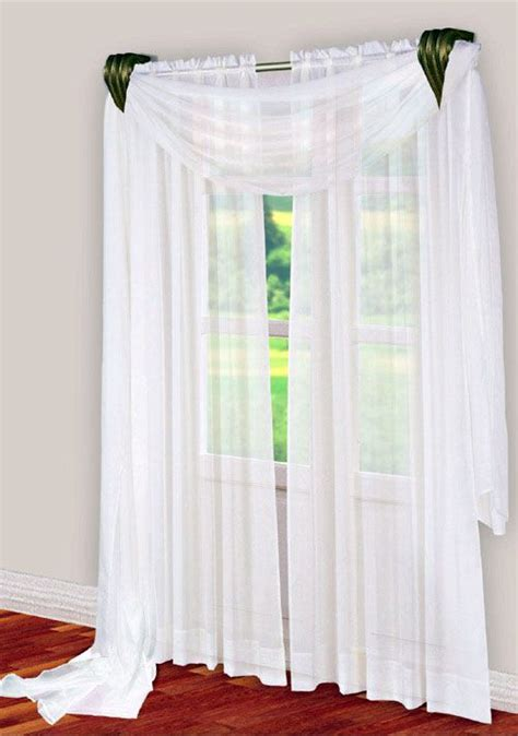 curtain scarves window scarf curtains drapes blinds and shades pinterest