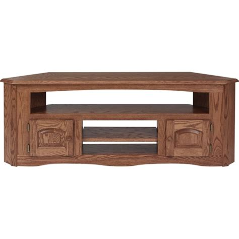 mission style corner tv cabinet solid oak country style corner tv stand 61 quot the oak