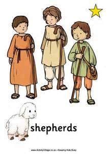 nativity posters shepherds printable