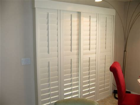 sliding bypass quot plantation shutters quot to give sliding glass