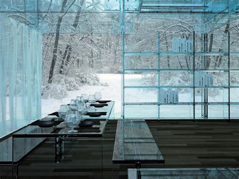 uses for glass in interior design