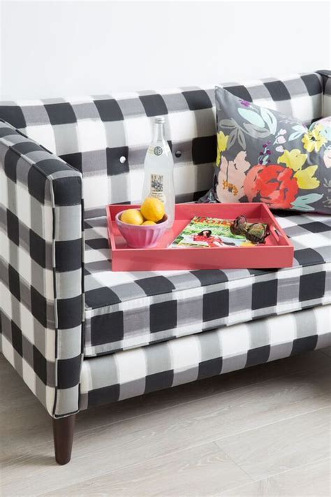 buffalo check sofa 1000 ideas about white sofas on pinterest sectional