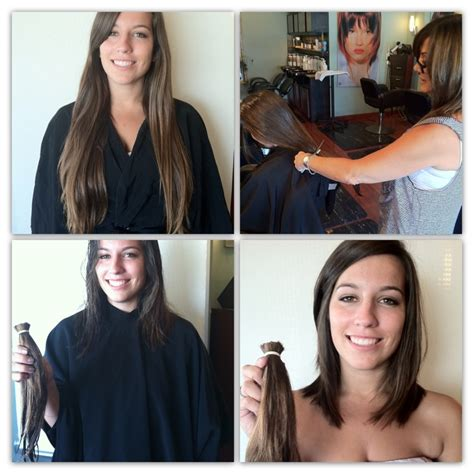 haircuts after donating hair locks of love before after pinterest locks and love