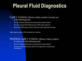 Light Criteria by Pleural Effusions Ppt