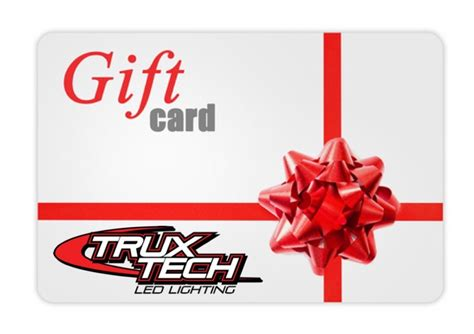 Gift Cards Images - trux tech led lighting