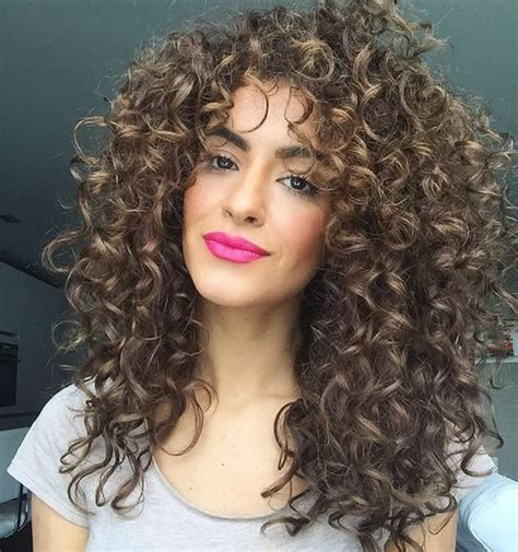 long hair layered permed with bangs mane addicts curly hair bangs from pinterest that are way cool