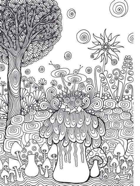 zen garden coloring page zen garden colouring book zentangle inspired art by wei