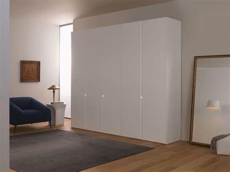 White Modern Wardrobe by Modern Wardrobe Sliding Or Hinged Doors White Lacquered Idfdesign