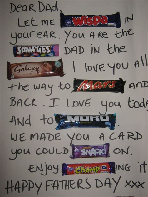 8 Presents Dads Are Doomed To Receive by Easy Peasy Fathers Day Card With Lots Of Chocolate