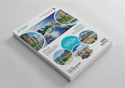 Tourism Flyer Template Psd