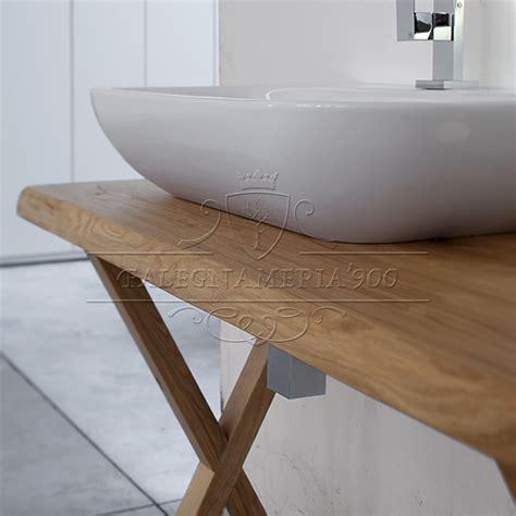 mobili bagno in legno mobile bagno in legno massello singolo lavabo modello
