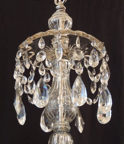Clear Glass Chandeliers 12 Best Collection Of Lead Chandeliers