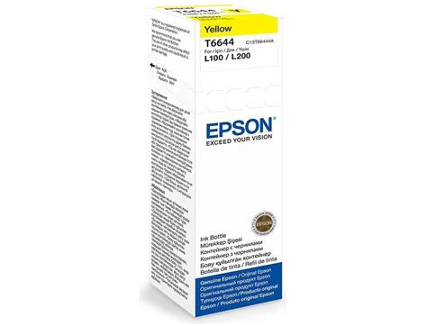 Toner Epson L200 epson ink cartridge 70ml t6644 l200 100 yellow end 2 29