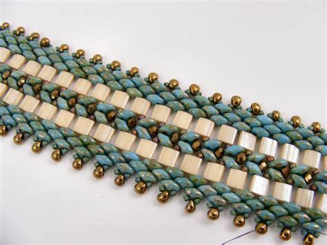 tila bead patterns sweet freedom designs tila and superduo bracelet