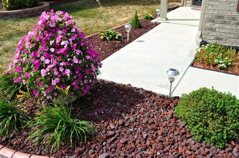 lava rock landscaping ideas