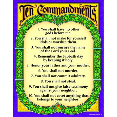Ten Commandments Of Character 25 best ideas about ten commandments on