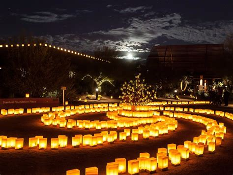 Desert Botanical Garden Luminaries 9 Best Events In Arizona Tripstodiscover
