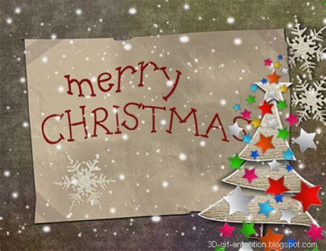 merry christmas photo  cards hd animation gif  year xmas tree flash light stars banner