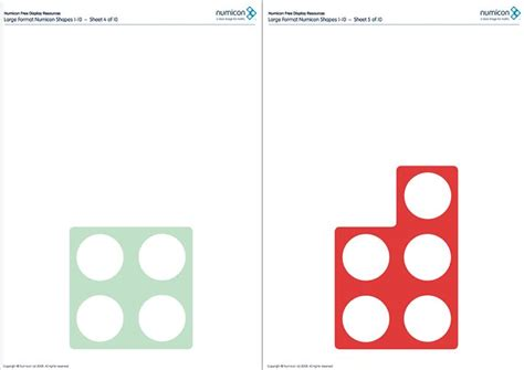 printable numicon number cards here s a large set of printable numicon shapes numicon