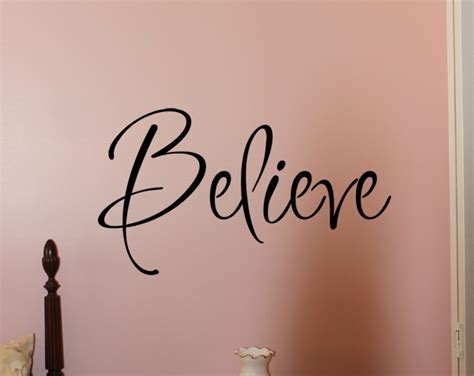inspiration believe wall decals trading phrases