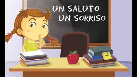 ciao dalla testo un saluto un sorriso canzoni per bambini di mela
