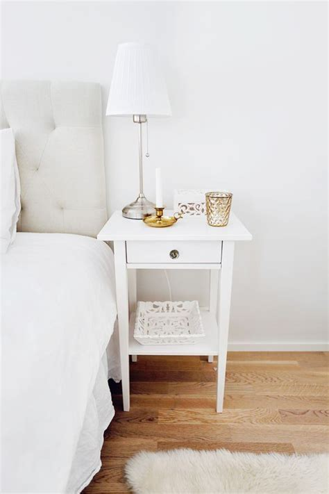 White Nightstands Ikea by Nightstands For Every Budget Design Inspo Home Bedroom