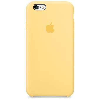 coque en silicone apple pour iphone 6s jaune etui pour t 233 l 233 phone mobile achat prix fnac