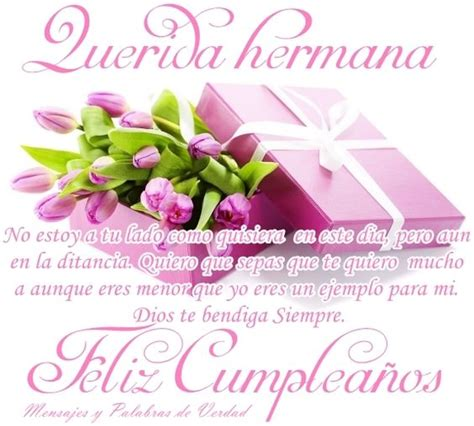 imagen hermosa de cumpleaños para una hermana feliz cumpleano hermana postales hermosas tarjetas
