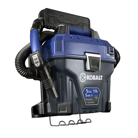 Garage Organization Companies - shop kobalt 5 gallon 5 peak hp shop vacuum at lowes com