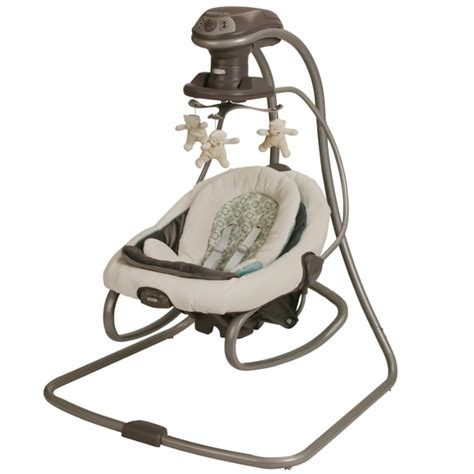 baby swing bouncer rocker graco duetsoothe swing rocker winslet