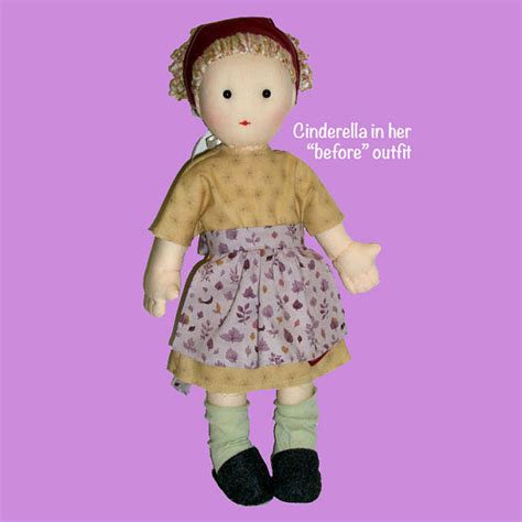 jointed doll patterns cinderella doll pattern 17 quot button jointed rag doll