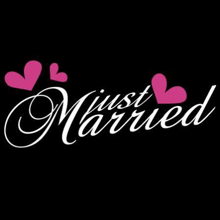 Auto Sticker Just Married by Stickers Just Married Stickers Malin